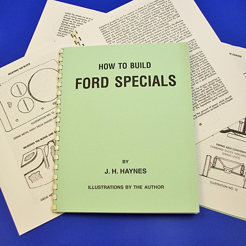 How to build Ford specials by J H Haynes