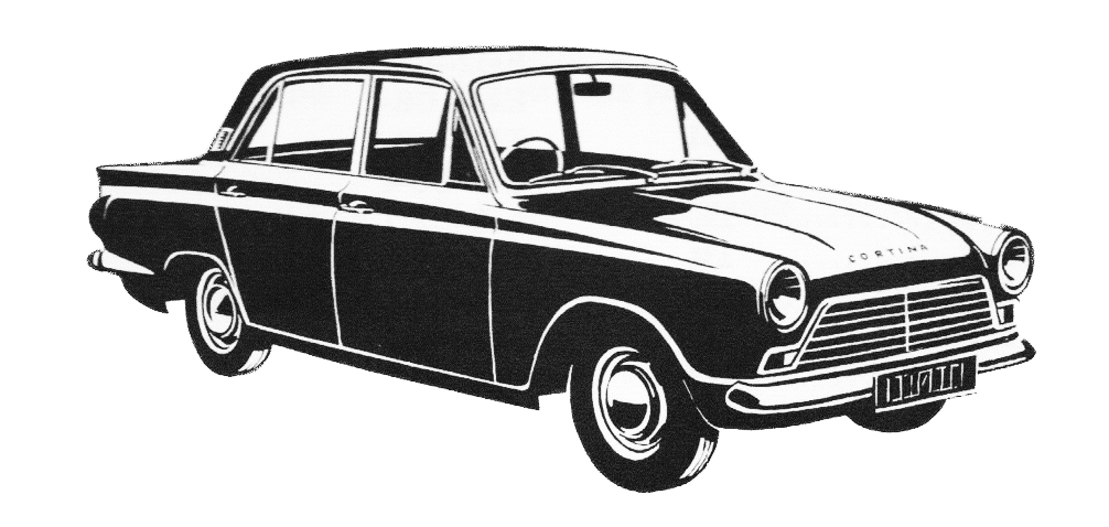 Ford Cortina Mk1  4 Dr  1962 To 1966